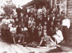 Коллектив Судогодского опытного поля, 1947 г.