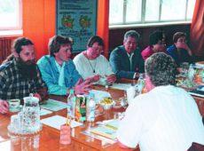 Встреча ученых Ротамсдеской опытной станции (Великобритания), ВНИИА им. Д.Н.Прянишникова, УНИПА им. А.Н.Соколовского (Украина) и  ВНИИОУ, 2001 г.