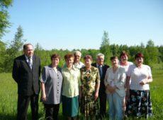 Сотрудники отдела биологического земледелия