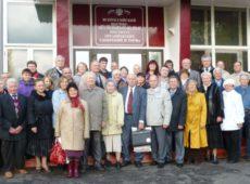 Участники Всероссийской научно-практической конференции, посвященной 100-летию Судогодского опытного поля, 2013 г.